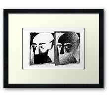 It's not me it's you Framed Print