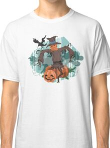 Scary Scarecrow Classic T-Shirt