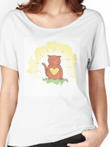 Deep Inner Smile - Bodhicatva Women's Relaxed Fit T-Shirt