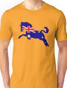 Australian Flag - Horse Unisex T-Shirt
