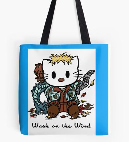 Wash on the Wind Tote Bag