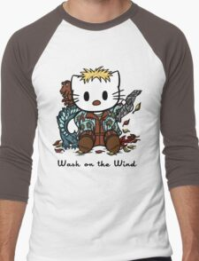 Wash on the Wind Men's Baseball ¾ T-Shirt