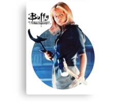 I'm Buffy...the Vampire Slayer Canvas Print