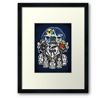 Penguin Time Framed Print