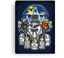 Penguin Time Canvas Print