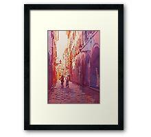 Italian Heat Framed Print