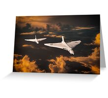 The Great White Bombers Greeting Card