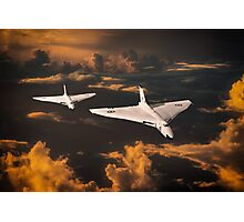 The Great White Bombers Photographic Print