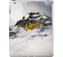 Sea King Mountain Rescue iPad Case/Skin