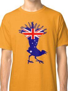 Australian Flag - Lyrebird Classic T-Shirt