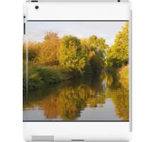 Canal dressed in gold iPad Case/Skin