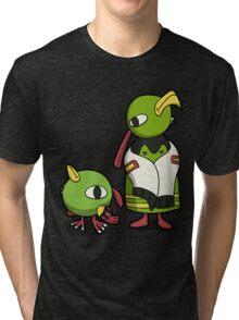 Mayan Birds Tri-blend T-Shirt