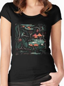 The Water Hole Women's Fitted Scoop T-Shirt