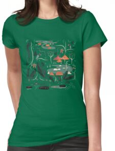 The Water Hole Womens Fitted T-Shirt
