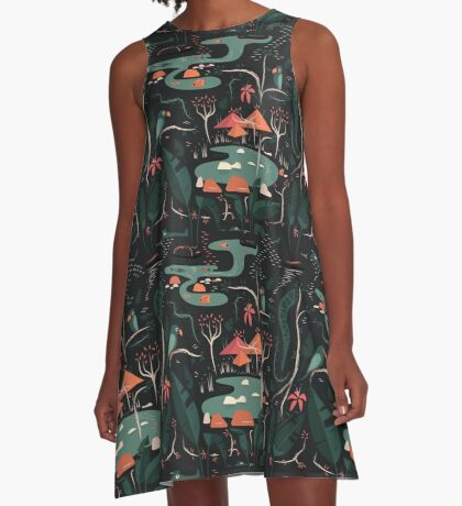 The Water Hole A-Line Dress