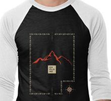 Explore Mountain Men's Baseball ¾ T-Shirt