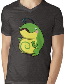 Chubby Toad Mens V-Neck T-Shirt