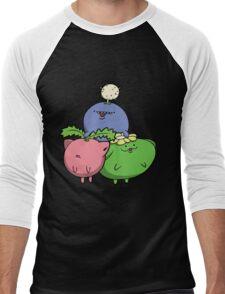 Little Puffballs Men's Baseball ¾ T-Shirt