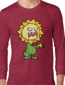 Grumpy Sunflower Long Sleeve T-Shirt