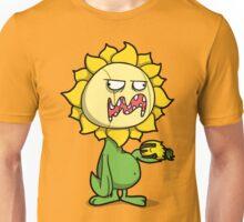 Grumpy Sunflower Unisex T-Shirt