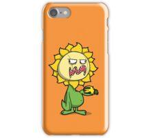 Grumpy Sunflower iPhone Case/Skin