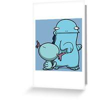 Big Woop, Little Woop Greeting Card