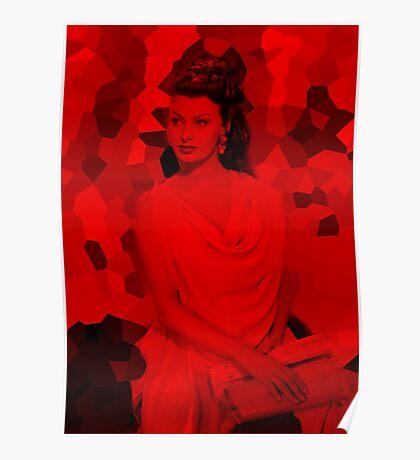 Sophia Loren - Celebrity Poster