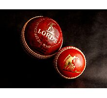 Cricket Balls Photographic Print