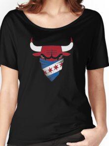 Chicago Bulls Women's Relaxed Fit T-Shirt