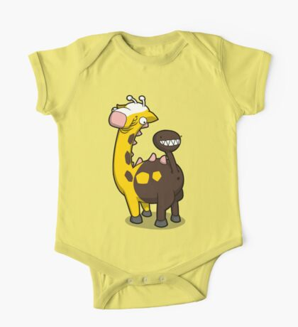 Giraffe Butt One Piece - Short Sleeve