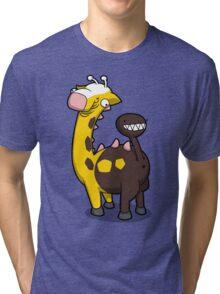 Giraffe Butt Tri-blend T-Shirt