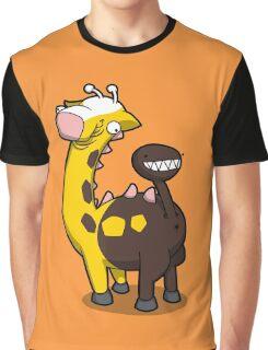 Giraffe Butt Graphic T-Shirt