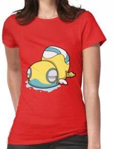 Snek Thing Womens Fitted T-Shirt