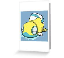 Snek Thing Greeting Card