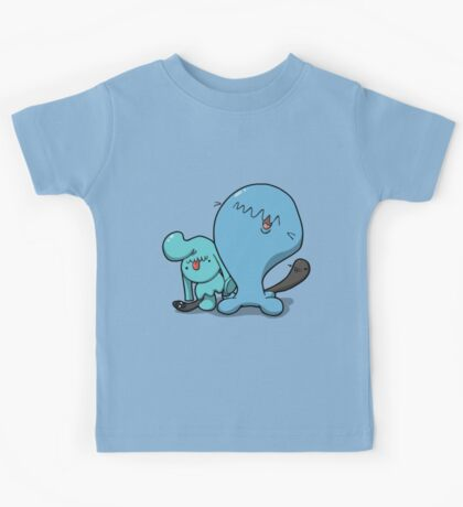 Wobba and little Wobba Kids Tee