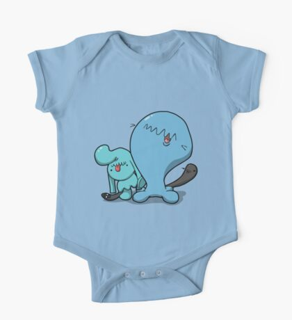 Wobba and little Wobba One Piece - Short Sleeve