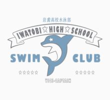Free! Iwatobi Swim Club Shirt (Haruka, Vice-Captain) white by renotology