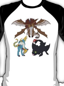 Chibi Dragons T-Shirt