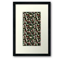 army bape Framed Print
