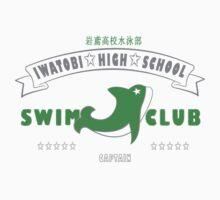 Free! Iwatobi Swim Club Shirt (Makoto, Captain) white by renotology