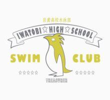 Free! Iwatobi Swim Club Shirt (Nagisa, Treasurer) white by renotology