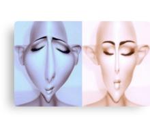 Alien mannequins Canvas Print