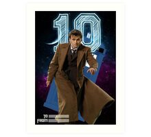 Tenth Doctor - Greeting Card Art Print