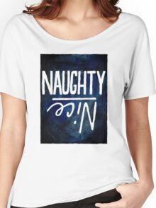 Nice / Naughty  Women's Relaxed Fit T-Shirt