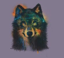 Galaxy Wolf Kids Clothes