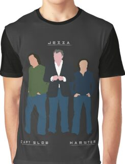 Capt Slow Jezza & Hamster Graphic T-Shirt