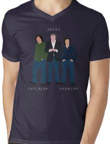 Capt Slow Jezza & Hamster Mens V-Neck T-Shirt