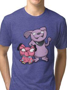 Cutey Bulldogs Tri-blend T-Shirt