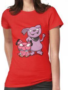 Cutey Bulldogs Womens Fitted T-Shirt
