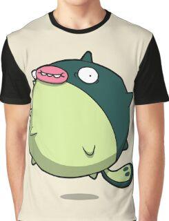 Pufferfish Thing Graphic T-Shirt